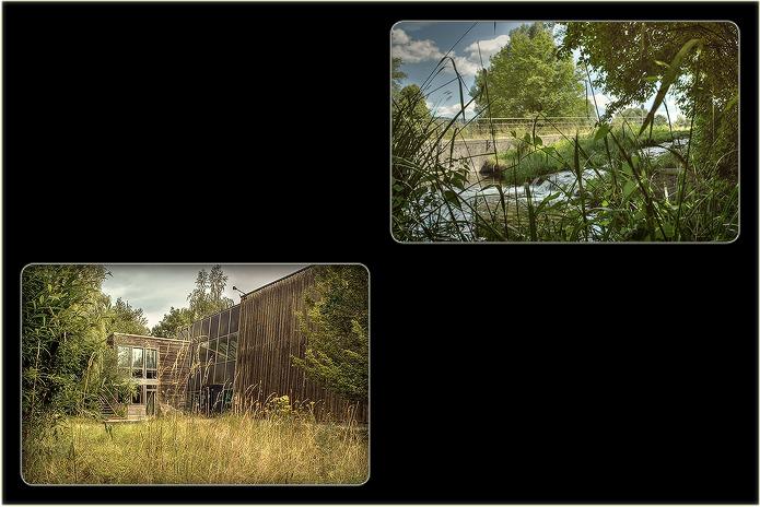 Studio - Außenansicht mit Garten
