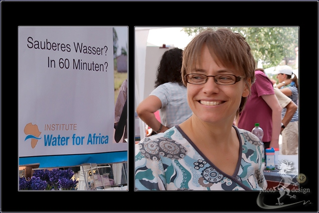 Informationsstand Institute Water for Afrika